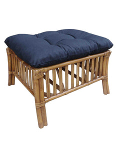 Hampshire Footstool-Teak - decorstore