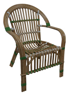 Colony Chair- Green/White - decorstore