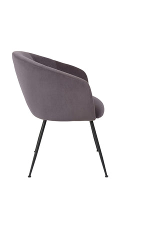 Vela Dining Chair Steel - decorstore