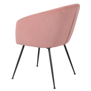Vela Dining Chair Blush - decorstore