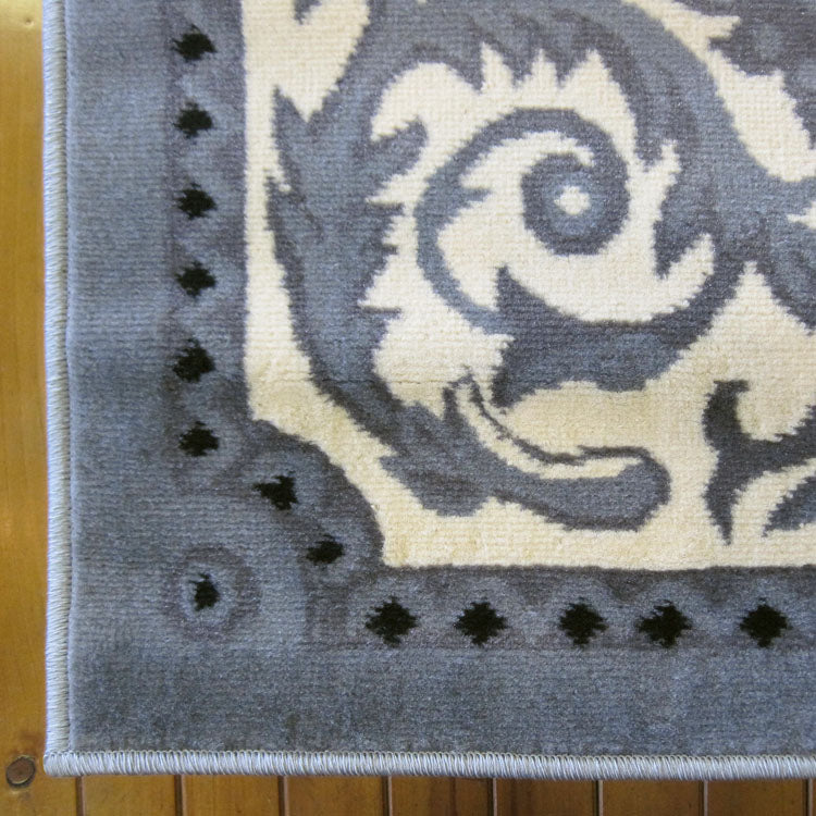 Turkish Ruby Grey Rug - decorstore