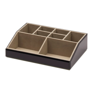 Stackable Jewellery / Makeup Box Set - Black - decorstore