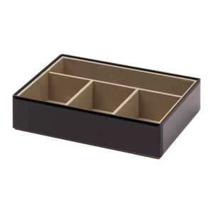 Stackable Jewellery Box Set - Black - decorstore