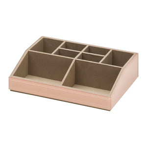 Stackable Jewellery / Makeup Box Set - Blush - decorstore
