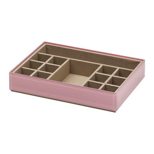 Stackable Jewellery Box Set - Dusty Rose - decorstore