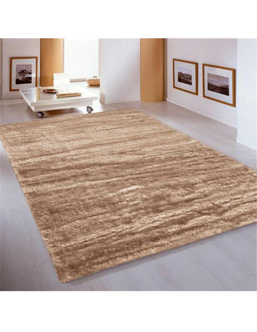 Soft Shaggy 1001 Turkish Cappuccino Rug - decorstore