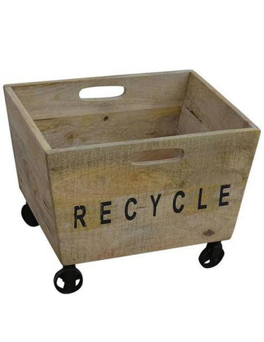 WHEELY ASH RECYCLE BOX - decorstore