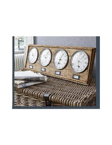 Timber World Clock - decorstore