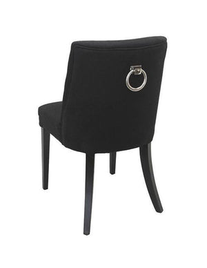 Ophelia Dining Chair Black - decorstore