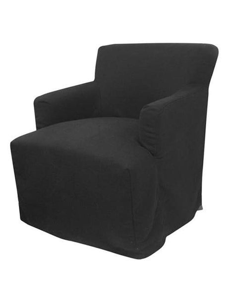 Nantucket Armchair Black - decorstore