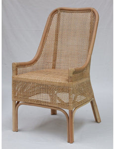 Summer Exotic Rattan Chair - Whitewash - decorstore