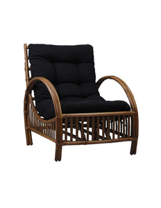 Hampton Lounge Chair-Teak - decorstore
