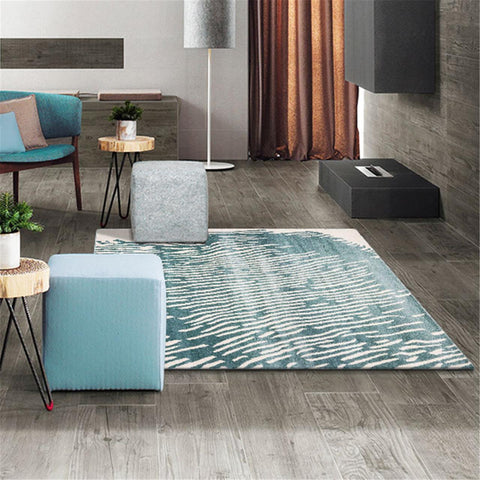 Turkish Adore Blue Rug - decorstore