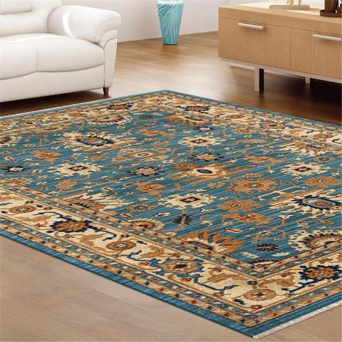 Persian Blue Rug - decorstore