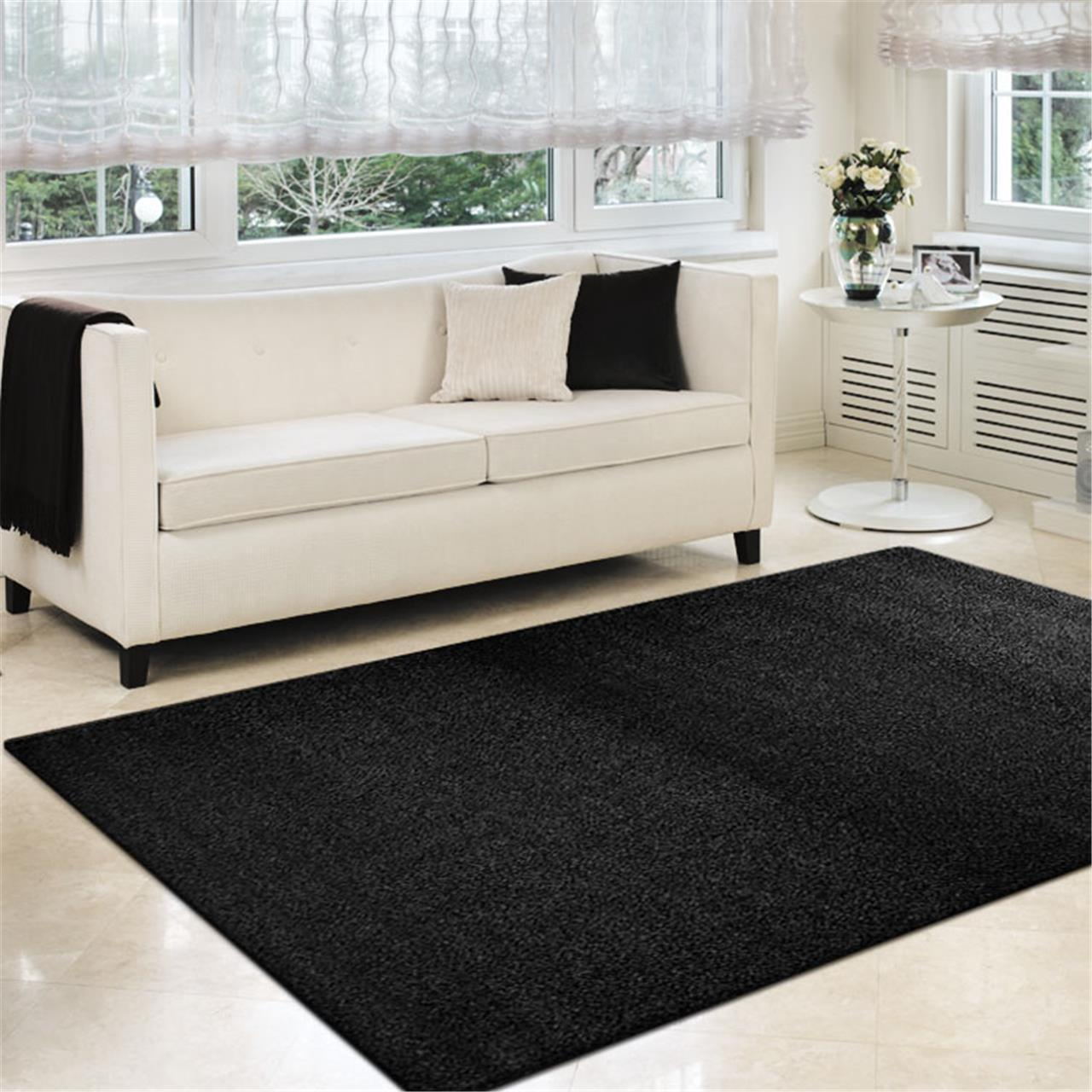 Turkish Sierra Black Rug - decorstore