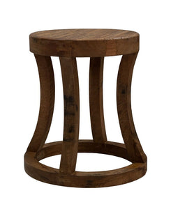 Zambia Wooden Stool - decorstore