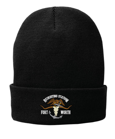 USMC FW RS FLEECE LINED KNIT BEANIE