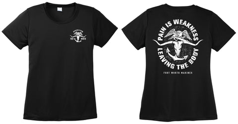 USMC FW RS LADIES DRI-FIT TEE