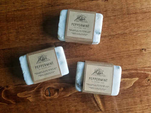 Peppermint Soap Bars