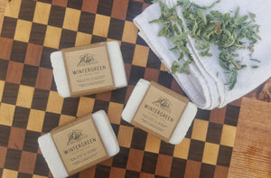 Wintergreen Soap Bars