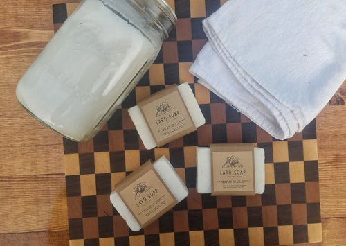 Lard Soap Bars