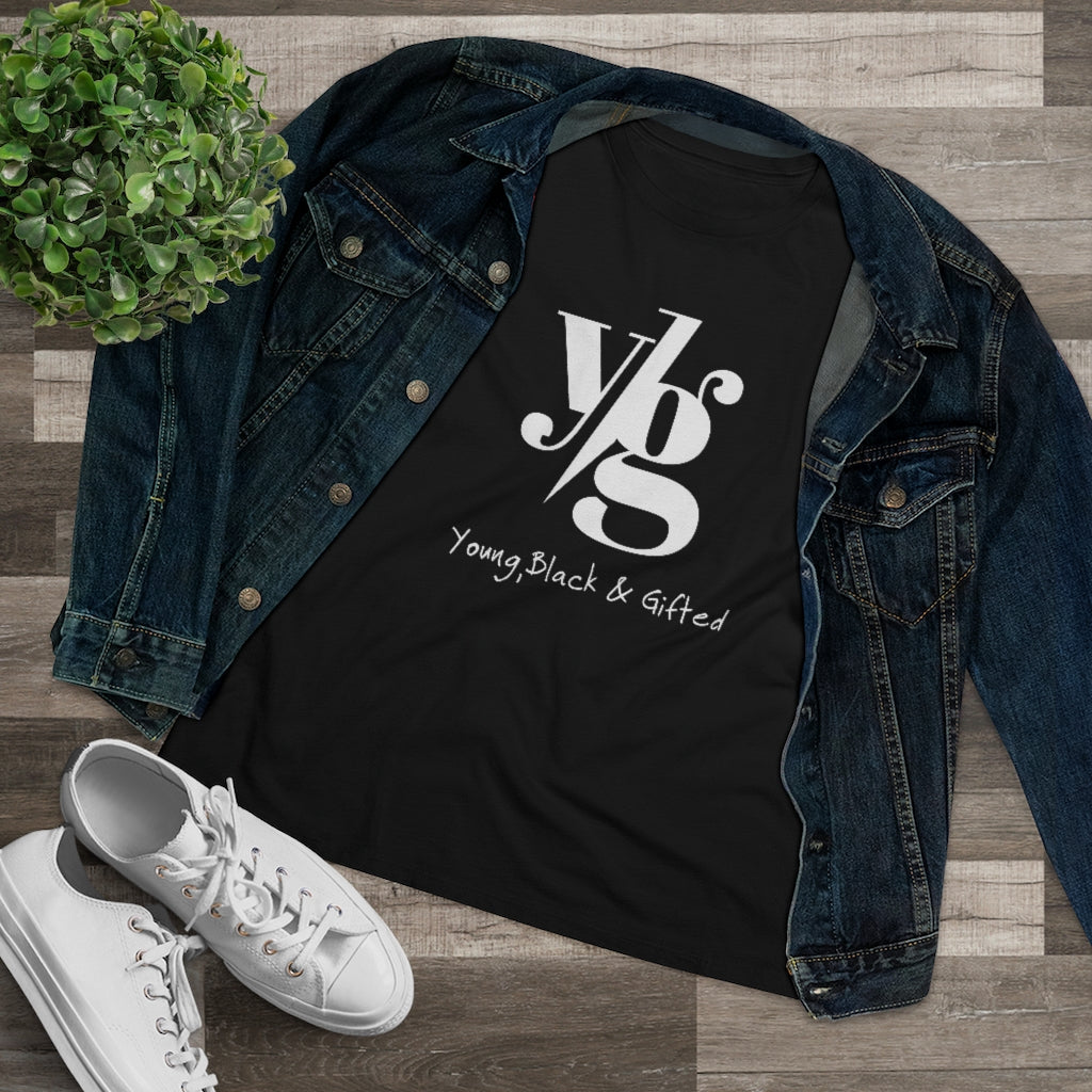 YBG Collection Women's Black Premium Tee