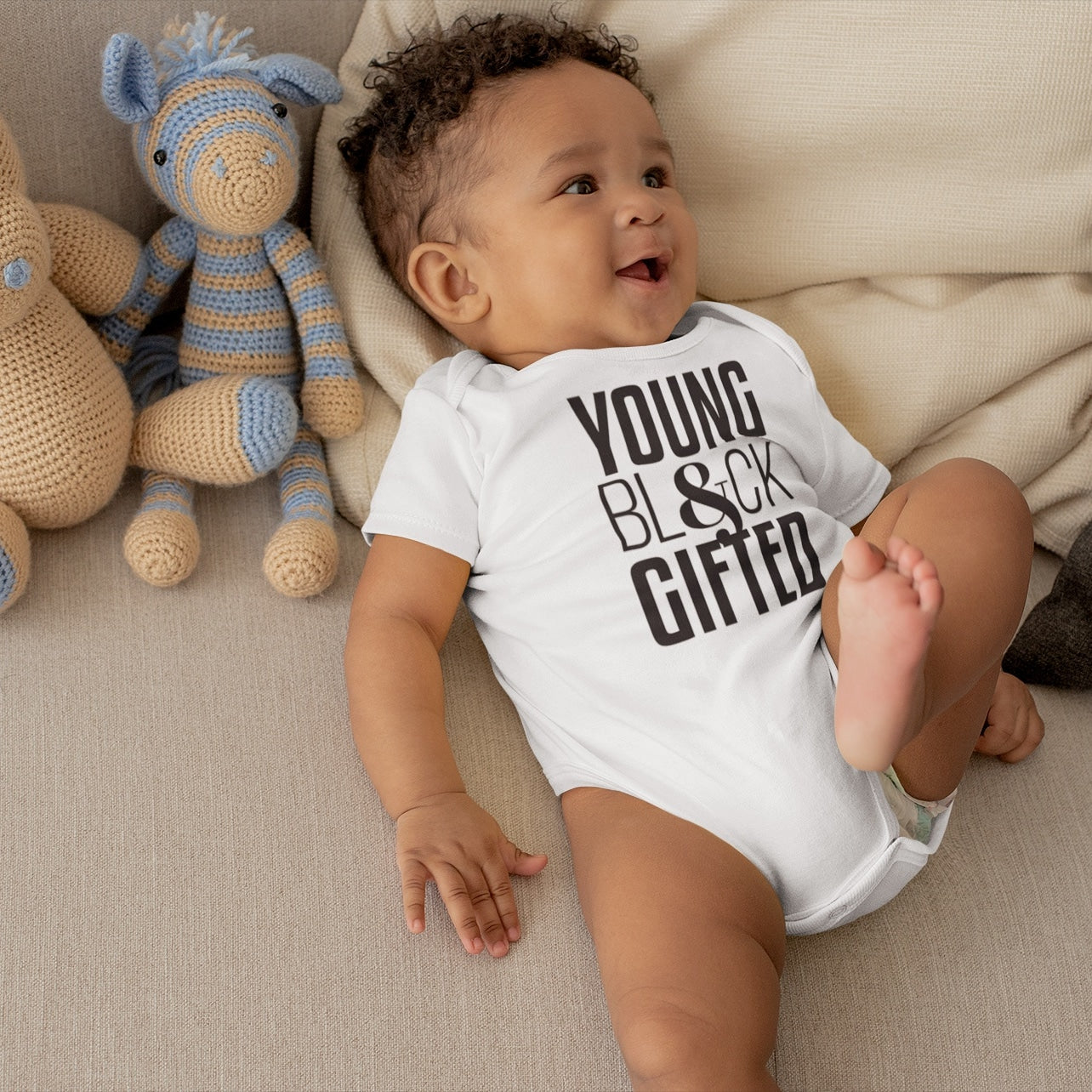 NEW YBG - UNISEX Baby Rib One-Piece