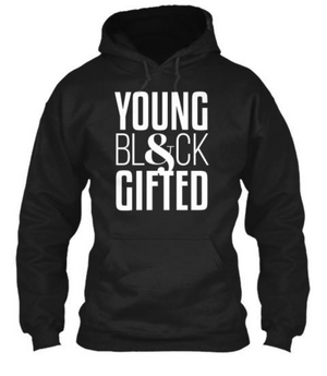 YBG Collection Unisex Heavy Blend™ Black Hooded Sweatshirt