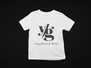 YBG Collection  Infant Fine Jersey White Tee