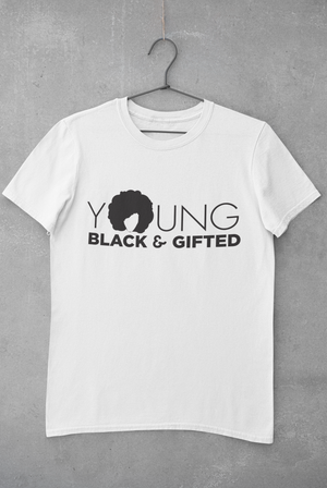 YBG Collection Youth Short Sleeve White Tee