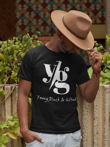 LIMITED - UNISEX - YBG Short Sleeve T-Shirt Black Crew Neck Tee