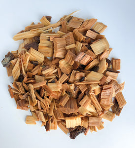 Oak Smoking Chips PRE-SOAKED in Chardonnay and READY to USE