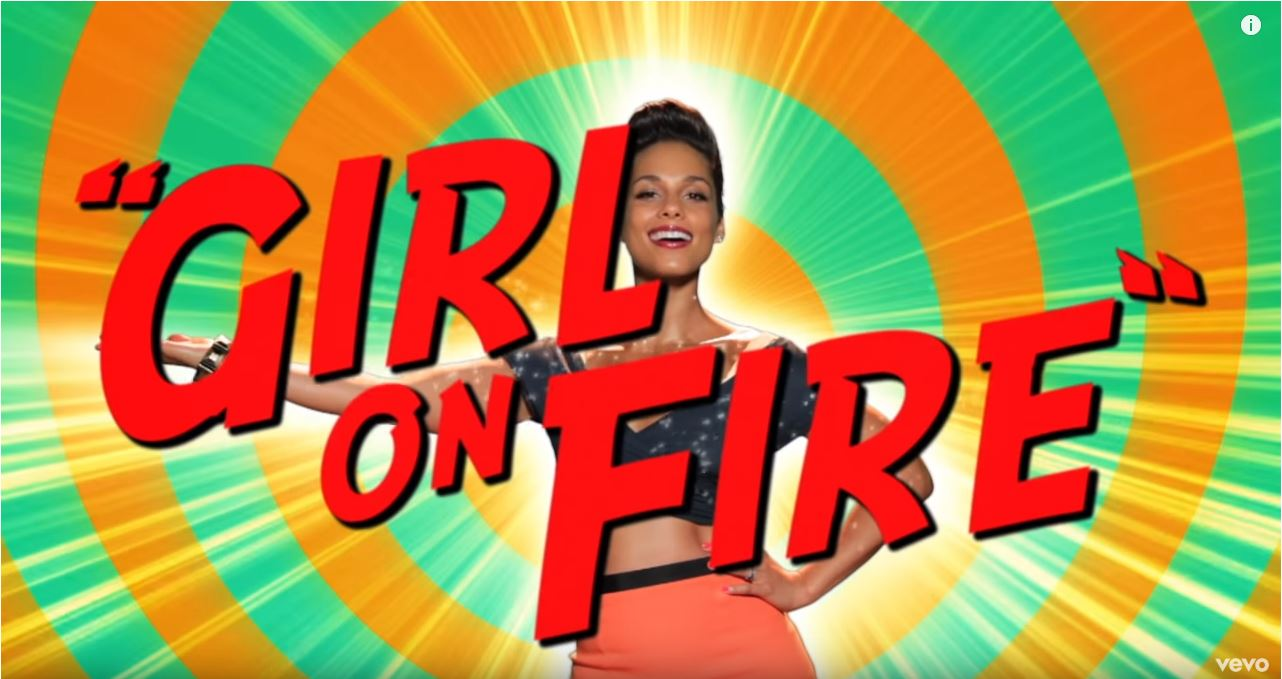 Girl On Fire!