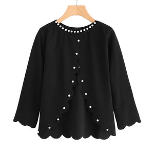 Pearl Beading Blouse