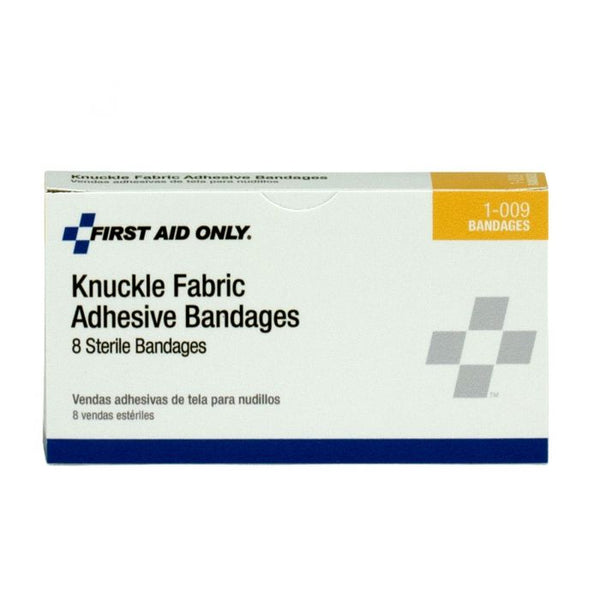 First Aid Only™ Fabric Knuckle Bandages, 8 Per Box [1-009]