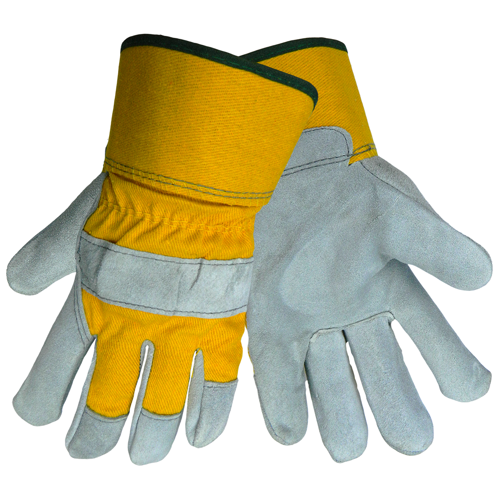 Global Glove® Premium Grade Cow Leather Palm Gloves