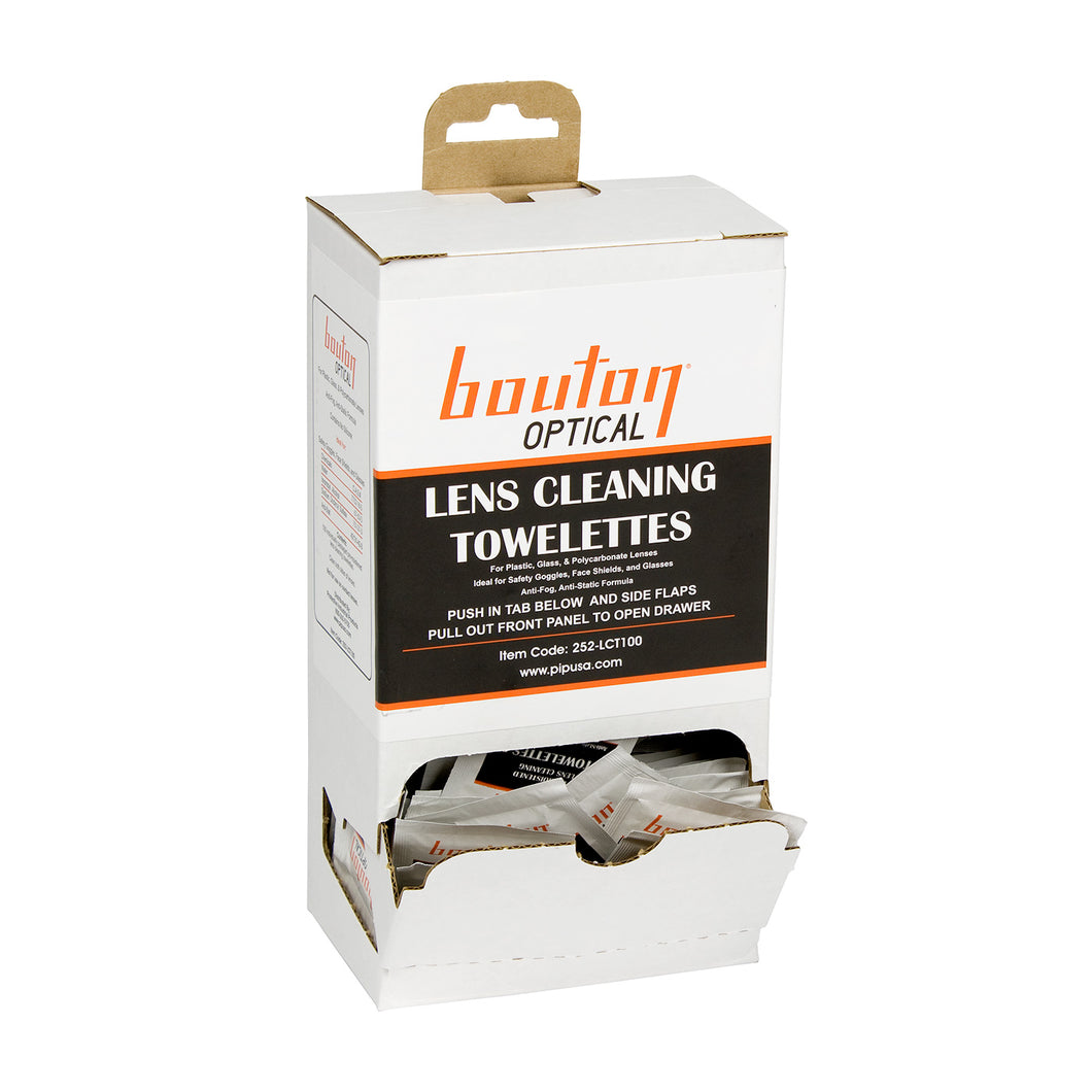 Bouton® Lens Cleaning Towelette Dispenser [252-LCT100]