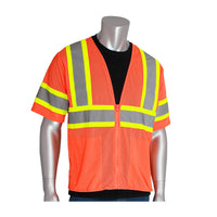 PIP® ANSI Type R Class 3 Value Two-Tone Mesh Vest