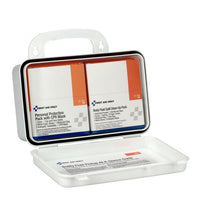 First Aid Only™ Bloodborne Pathogen (BBP) Unitized Spill Clean Up Kit With CPR, Plastic Case [3065]