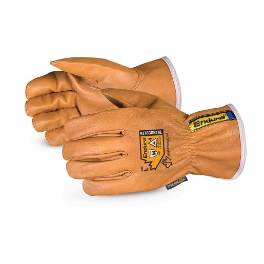 Endura® Kevlar®-Lined Waterstop™/Oilbloc™ Winter Goat-Grain Drivers Glove Cut A4 [378GOBTKL]
