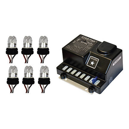 STAR-PAK®  Four Head Remote Strobe Kit [RSK966P-4]