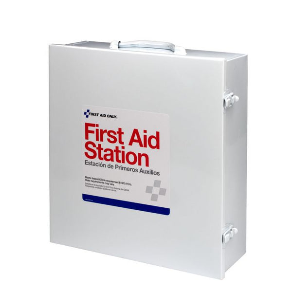 First Aid Only™ 100 Person 3 Shelf First Aid Steel Cabinet [6155]