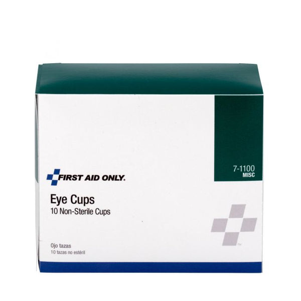 First Aid Only™ Non-Sterile Eye Cups, 10 Per Box [7-110]