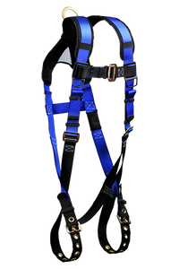 FallTech 7016B Contractor+ Harness, Non-Belted w/ 1 D-Ring [7016B]