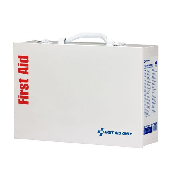 First Aid Only™ 2 Shelf First Aid Cabinet With Medications, ANSI Compliant [90572]