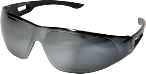 Edge® Safety Glasses Kirova Series Silver Mirror Lens [AB117]
