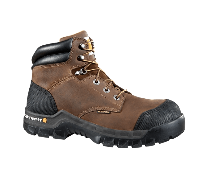 Carhartt® 6-Inch Brown Rugged Flex® Work Boot