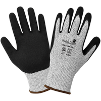 Cut Resistant Mach Finish Nitrile Palm-Dipped Gloves Cut A4 [CR611MF]