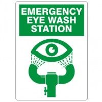 "10 X 14 ""EYEWASH STATION"" SIGN"