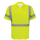 FrogWear® HV - Premium High-Visibility Polo Shirt [GLO-209-LY]